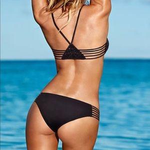 Victoria's Secret Macramé Beach Sexy Bra Bikini S